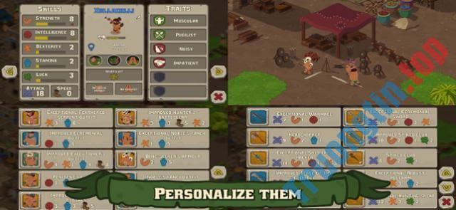 Download Sacrifices cho iOS 1.3.6 – Game thần linh quản lý ngôi làng – Trường Tín