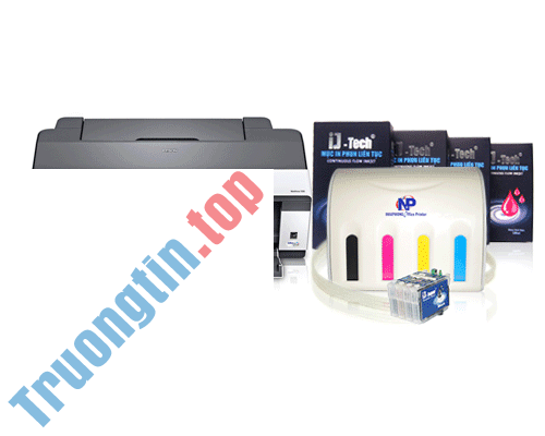 【Epson】 Trung tâm nạp mực máy in Epson Workforce T1100