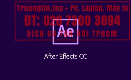 Cài Đặt Adobe After Effects Giá Bao Nhiêu – Bảng Giá Mới
