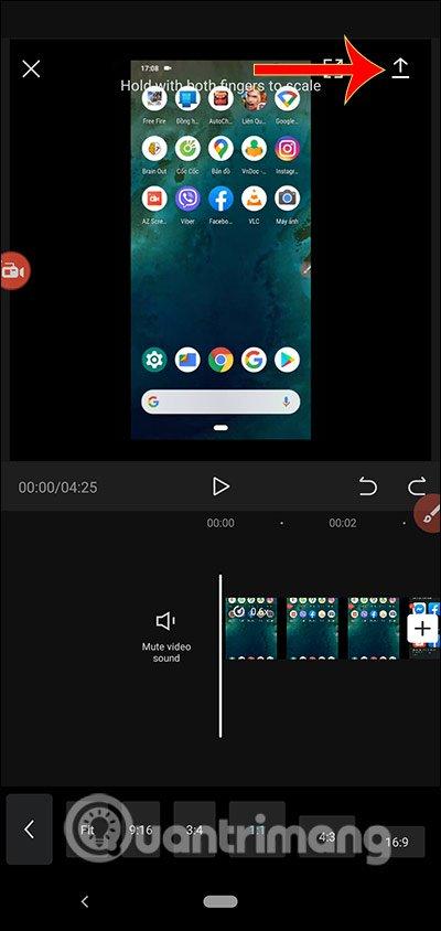 Cách dùng Capcut chỉnh sửa video trên điện thoại