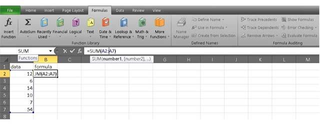 Những mẹo với phép cộng trong Excel mà bạn cần biết