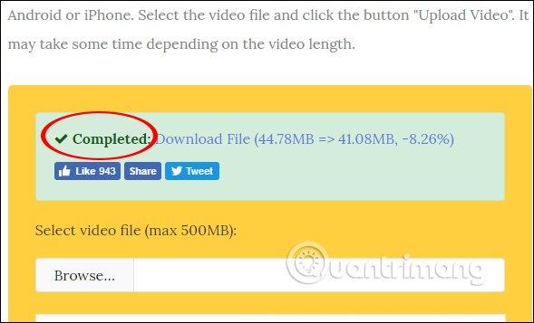 Cách nén dung lượng video không cần phần mềm