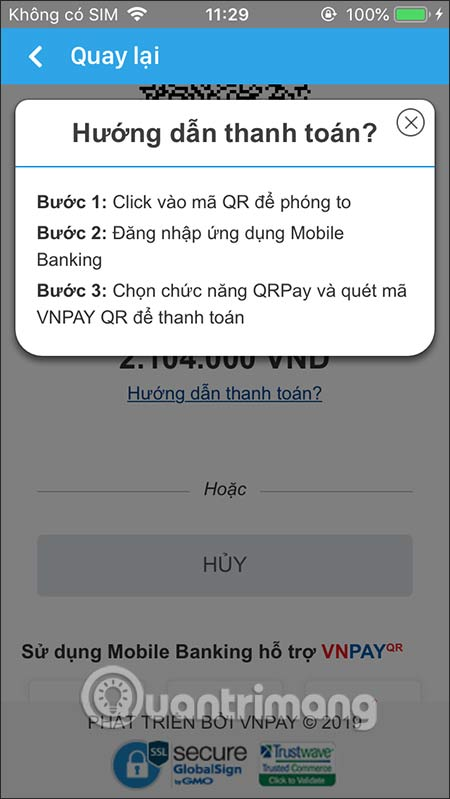 Hướng dẫn mua vé tàu trực tuyến trên điện thoại