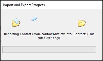 Cách chuyển danh bạ từ trang tính Excel sang Outlook