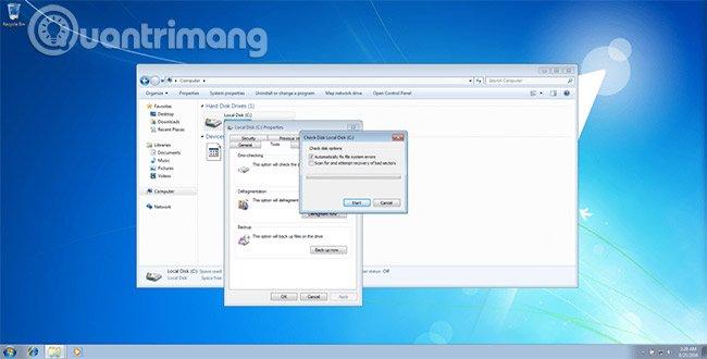Cách sửa lỗi 0x00000024 trong Windows