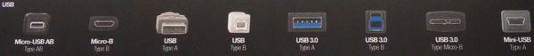 Phân biệt USB 3.0 và USB 2.0
