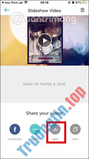 Cách tạo video ngắn bằng Slideshow Creator (Animoto Video Maker)