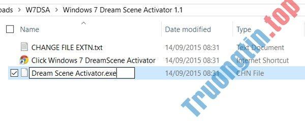 Tải DreamScene trong Windows