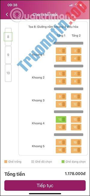 Cách đặt vé máy bay qua điện thoại bằng ví Momo