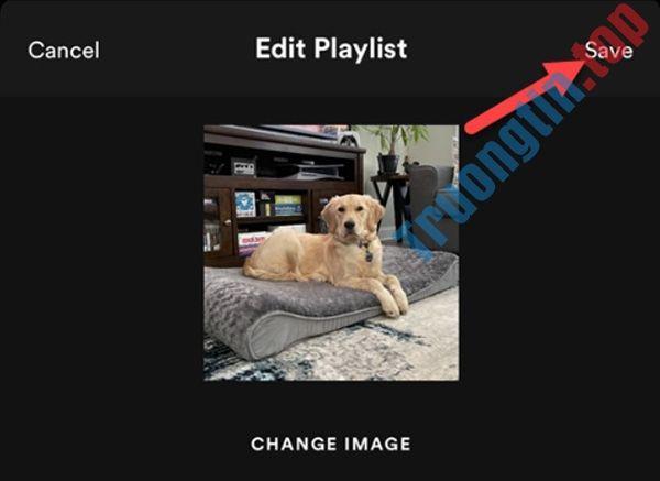 Cách thêm ảnh bìa vào playlist Spotify