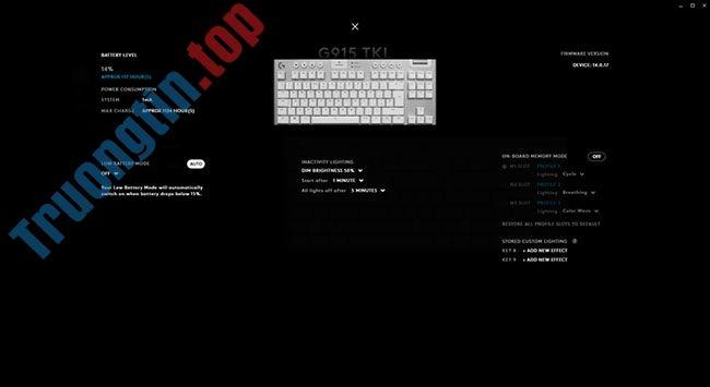 Đánh giá bàn phím Logitech G915 TKL: Chất lượng nhưng giá hơi cao