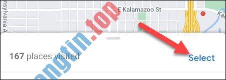 Cách xem danh sách các địa chỉ đã ghé thăm trong Google Maps