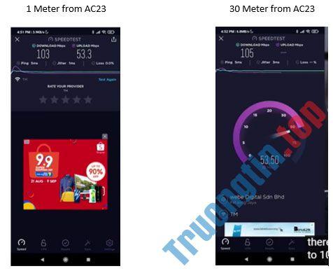 Đánh giá Tenda AC23: WiFi router Gigabit băng tần kép