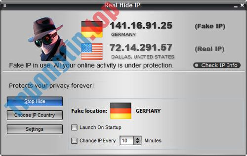 Fake IP, phần mềm đổi IP, lướt web ẩn danhtốt nhất