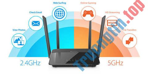 Sự khác biệt giữa Wi-Fi 2.4GHz và 5GHz