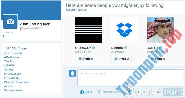 Tạo tài khoản Twitter, đăng ký Twitter trên điện thoại, máy tính