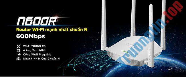 Đánh giá Totolink N600R: Sự lựa chọn thông minh cho WiFi gia đình