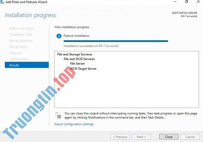 Cách cài đặt iSCSI Target trên Windows Server 2019