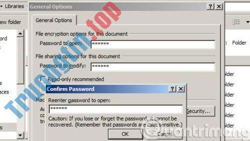Làm thế nào để đặt mật khẩu cho file PDF?