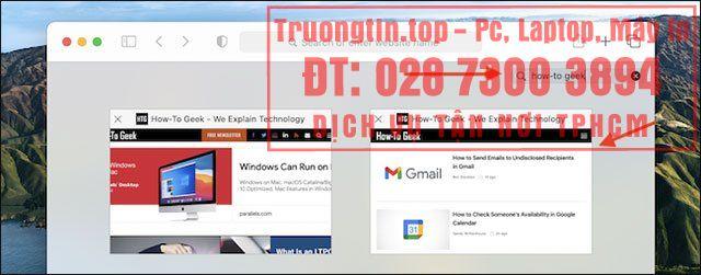 Cách tìm kiếm tab đang mở trong Safari trên Mac
