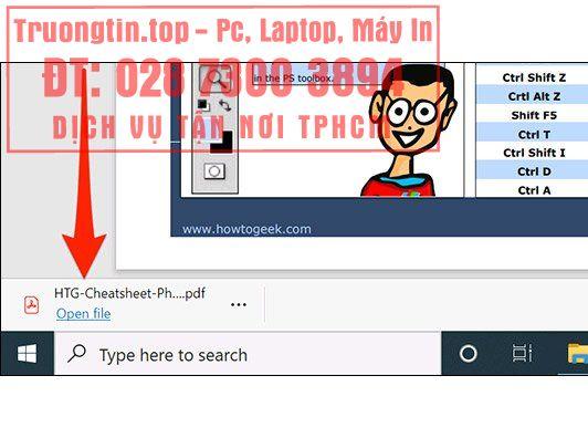 Cách thiết lập Microsoft Edge hiển thị các mục download ở cuối màn hình